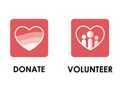 Charity Icons branding icons