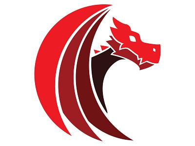 Dragon (Option 2). design vector logo branding
