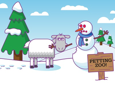 Snow days! design illustrator vector illustration