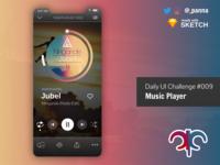 Daily Ui Challenge #009: Music Player