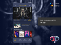 Daily Ui Challenge #025: TV App