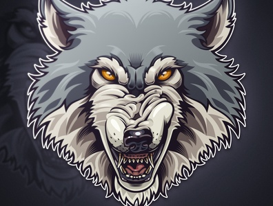 Alpha branding design illustration wolf illustrator digital painting drawing awax design