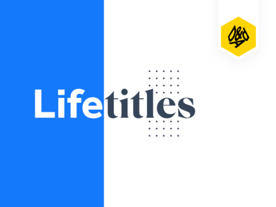 Life Titles - D&AD 2019 ✏️