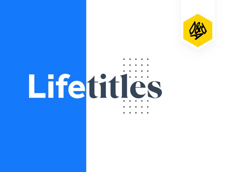 Life Titles - D&AD 2019 ✏️ award dad sanserif serif logo website experiment vector web sketch icon ui ux minimal illustration identity design clean branding brand