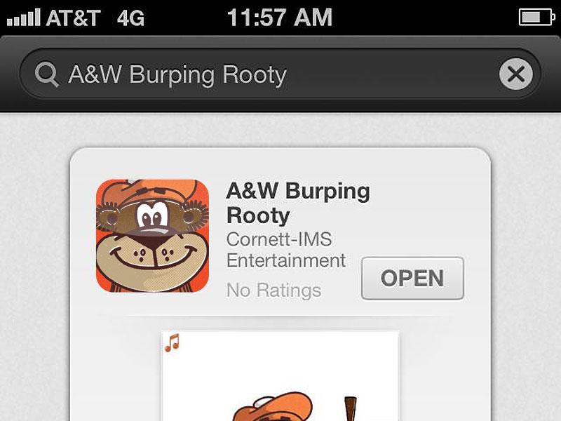 A&W™ Burping App by Cornett on Dribbble