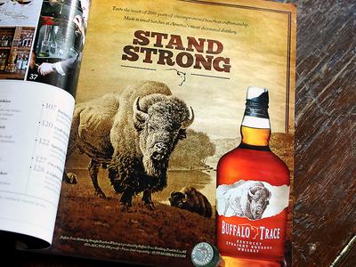 Buffalo Trace Kentucky Straight Bourbon Whiskey - Stand Strong