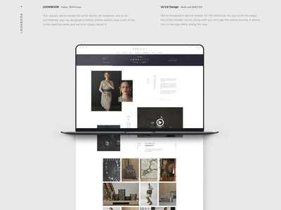 YARGICI AW19 Lookbook ux web design ui lookbook typography