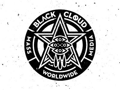 MASS MEDIA vector graphicdesign illustration design vectordesign blackcloud vectorillustration logo sticker corporatedesign