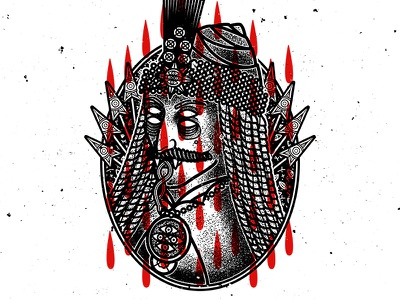Transilvanian Nightmare vectordesign graphic vectorilustration design illustration vector art tattoo occult dracula graphicdesign drawing