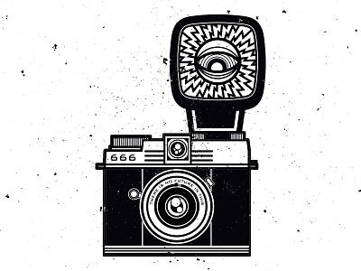 I EAT YOUR SOUL art vectorillustration design graphic graphicdesign illustration vectordesign vector camera satan photography occult