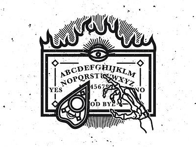 OUIJA ouija graphic design illustration vector occult graphicdesign vectordesign drawing vectorillustration