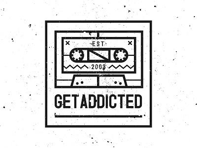 GETADDICTED corporate graphicdesign illustration graphic logodesign design identity logo