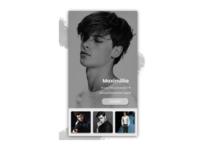 dailyui profile page