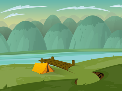 Illustration camping 2
