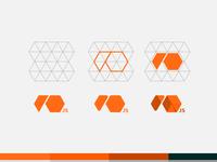 Logo io.js grid