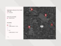 Daily UI, Location tracker