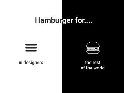 Burger UI