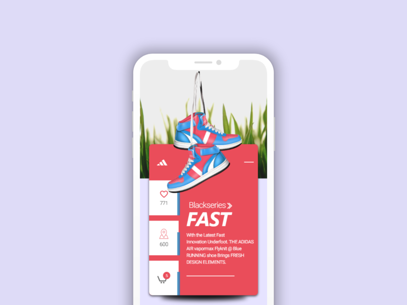 Intro Slide colors dark ui mobile adobe xd dailyui save loaction likes shoes mobile screen design intro intro page intro slide