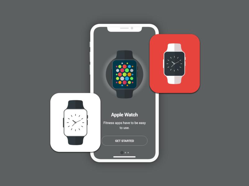 Apple watch mobile adobe xd design application design watchs watch apple watch design apple apple watch