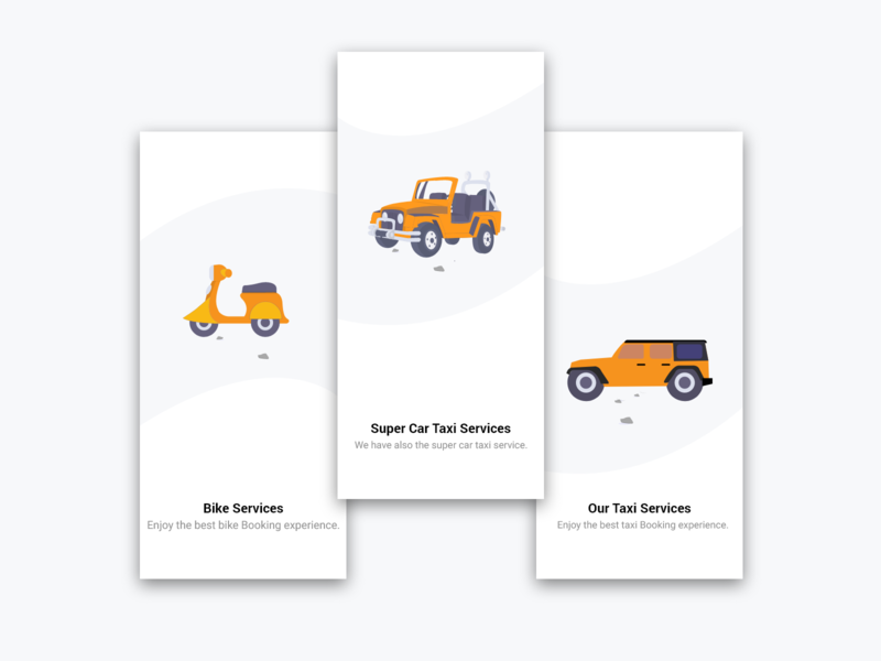 Taxi Services online app online mobile adobe xd dailyui design screens taxi booking app taxi app taxi