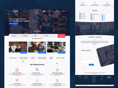 PatentPicks Redesign Web UI
