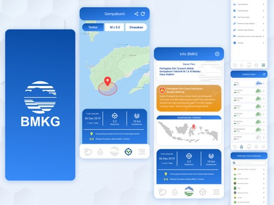 Redesign Earthquake Info App