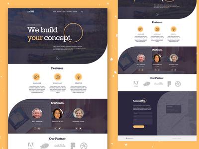 Service Website UI