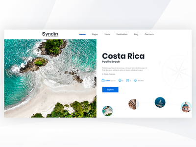Syndin - Travel Agency PSD Template travel tourism travel agency bootstrap theme forest responsive design creative
