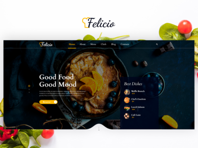 Felicio Project - Food & Restaurant Theme