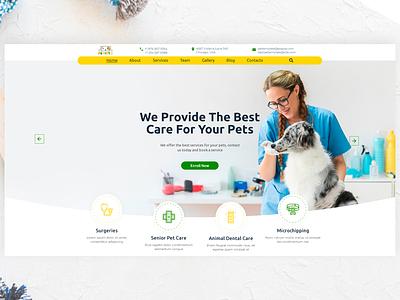 Pepitto - Pet Care, Shop, and Veterinary Project pet care care animal  pet animal dog cat veterinary pet shop pet