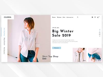 Clodia - Modern Fashion Shop creative clean modern fashion