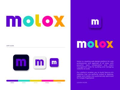 molox logo design