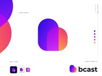 bcast logo design