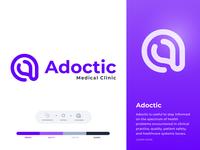 Adoctic Logo Design || logo design for Medical Clinic