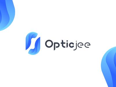 Opticjee - logo design