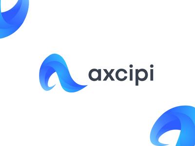 Axcipi - logo design