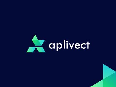 aplivect - logo design