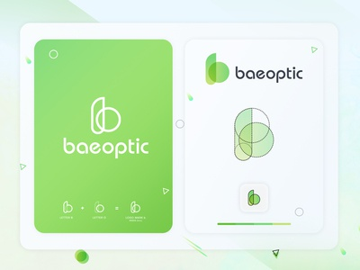b logo mark for baeoptic