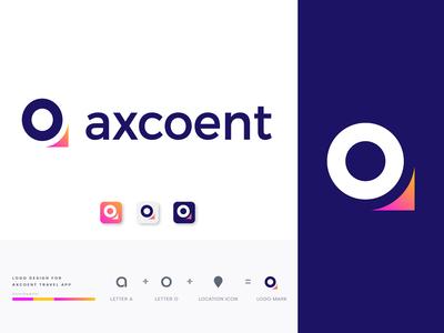 Axcoent Travel App Logo