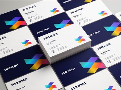 Scaxcen Business Cards