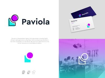 Paviola Logo Design