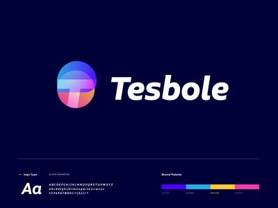 Tesbole logo design