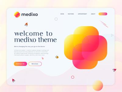 Medixo - Medical Modern Logo Design