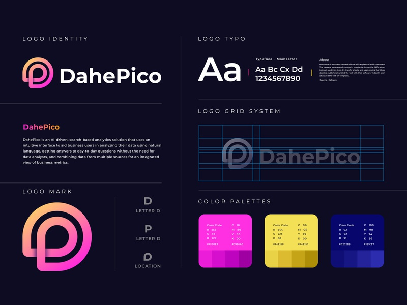 DahePico branding
