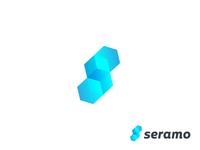 seramo logo design    S Letter logo Concept