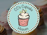 CC's Cupcake Heaven Logo