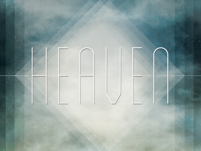 Heaven heaven lines blanch lost type shapes texture shadow blue diamond sky stars contrast