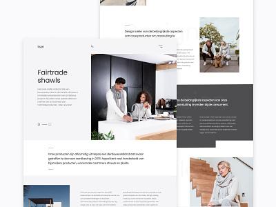 Dribbble debut web debutshot debut shawls photography design fairtrade website webdesign