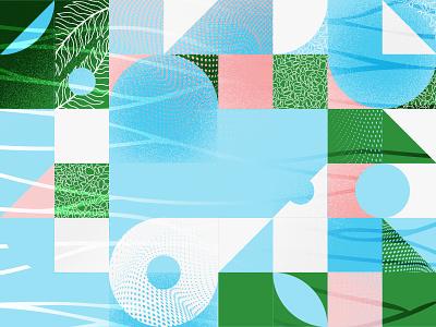 Pattern 002 grain texture illustraion pattern