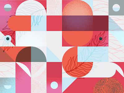 Pattern 003 vibrant texture illustration pattern